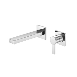 120 1816 Wall mounted single lever basin mixer | Wash basin taps | Steinberg
