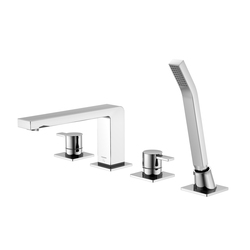 120 2402 4-hole deck mounted bath|shower mixer | Bath taps | Steinberg