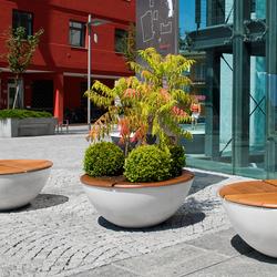 Union Concrete Flowerpot | Bacs à fleurs / Jardinières | Jangir Maddadi Design Bureau