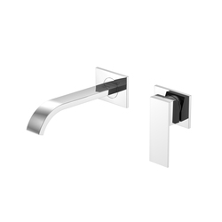 135 1803 Wall mounted single lever basin mixer | Wash basin taps | Steinberg