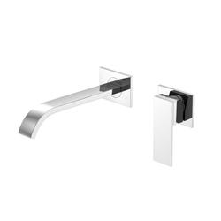 135 1817 Wall mounted single lever basin mixer | Wash basin taps | Steinberg