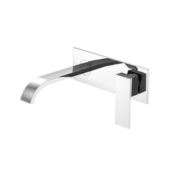 135 1853 Wall mounted single lever basin mixer | Wash basin taps | Steinberg