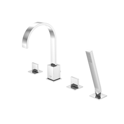 135 2400 4-hole deck mounted bath mixer | Bath taps | Steinberg