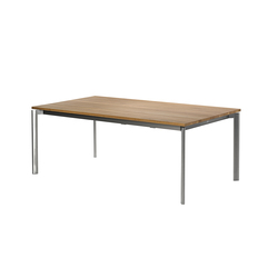 Swing front slide extension table | Mesas comedor | Fischer Möbel