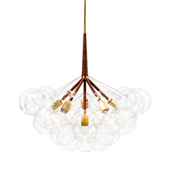 Jumbo 29 Bubble Chandelier | Iluminación general | PELLE