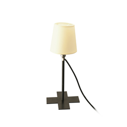 Miss Swiss | Table lamps in steel | Moormann