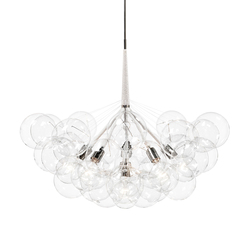 Jumbo 36 Bubble Chandelier | Lámparas de suspensión | PELLE