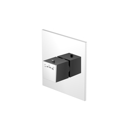 160 4202 Finish set for concealed thermostatic mixer | Shower controls | Steinberg