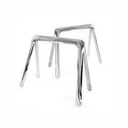 Koza | inox steel | Caballetes de mesa | Zieta
