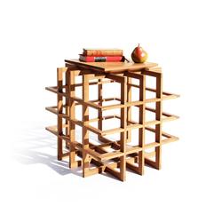 Quadrat Cube 20 | Side tables | PELLE