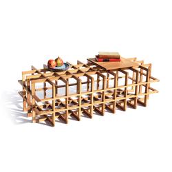 Quadrat Cuboid 20 | Tavolini salotto | PELLE