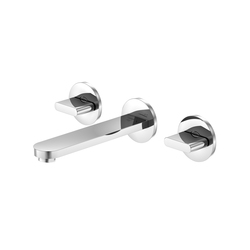 170 1900 3-hole basin mixer wall mounted | Wash-basin taps | Steinberg