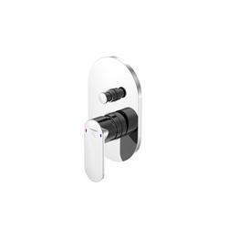 170 2103 Fertigmontageset für Wanne/Brause-Einhebelmischer mit Umsteller | Shower controls | Steinberg