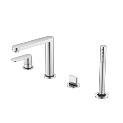 170 2450 4-hole deck mounted single lever bath|shower mixer | Bath taps | Steinberg