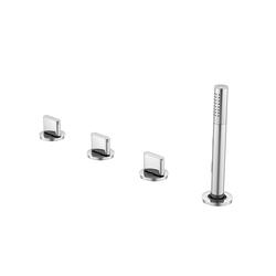 170 2480 4-hole deck mounted bath mixer | Bath taps | Steinberg
