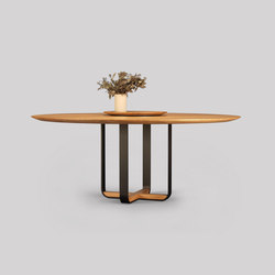 piedmont round dining table | Mesas comedor | Skram