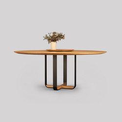 piedmont round dining table | Tables de repas | Skram