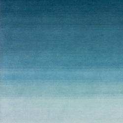 Tye 'n dye petrol | Formatteppiche / Designerteppiche | cc-tapis
