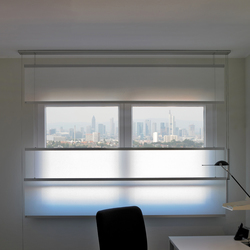 Flow Shades | LW07 | Tende arricciate a cordone | Wood & Washi