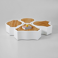Compound Yacht | Modular seating elements | Jangir Maddadi Design Bureau