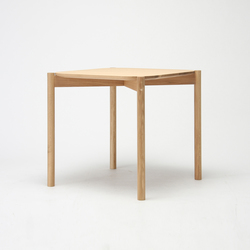 Castor Table 75 | Tables de repas | Karimoku New Standard