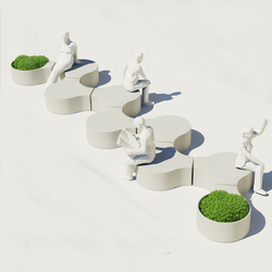 Compound Concrete | Garden benches | Jangir Maddadi Design Bureau