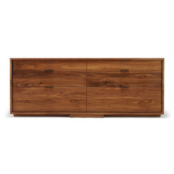 lineground 6-drawer horizontal bureau | Credenze | Skram