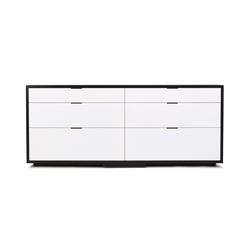 lineground 6-drawer horizontal bureau | Aparadores / cómodas | Skram