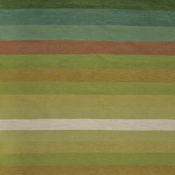 Tofta wave green | Rugs | Kateha