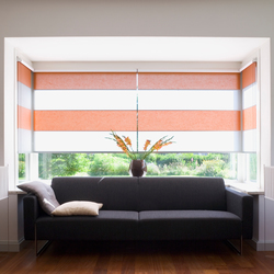Rollo Shades | Panel glides | Wood & Washi