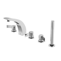 180 2423 5-hole deck mounted bath mixer | Grifería para bañeras | Steinberg
