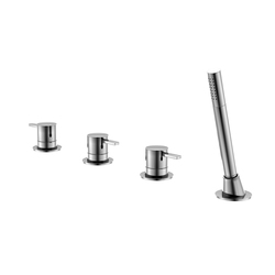 210 2480 4-hole deck mounted bath|shower mixer | Bath taps | Steinberg