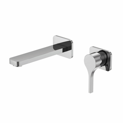230 1800 Wall mounted single lever basin mixer | Wash basin taps | Steinberg