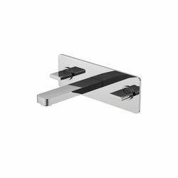 230 1950 3-hole basin mixer wall mounted | Robinetterie pour lavabo | Steinberg