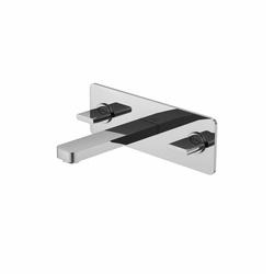 230 1950 3-hole basin mixer wall mounted | Grifería para lavabos | Steinberg