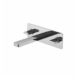 230 1955 3-hole basin mixer wall mounted | Robinetterie pour lavabo | Steinberg
