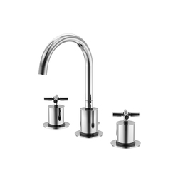 250 2000 3-hole basin mixer wall mounted | Wash basin taps | Steinberg