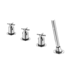 250 2480 4-hole deck mounted bath|shower mixer | Bath taps | Steinberg
