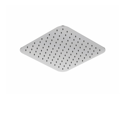 390 1681 Rain shower ultra flat, 250 x 250 x 2mm | Robinetterie de douche | Steinberg