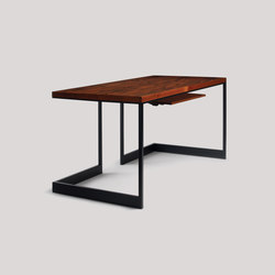 wishbone slab top desk | Desks | Skram
