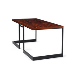 wishbone slab top desk | Escritorios individuales | Skram