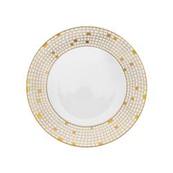 AURÉOLE DORÉE Dinner plate | Dinnerware | FÜRSTENBERG