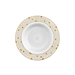 AURÉOLE DORÉE Soup plate | Dinnerware | FÜRSTENBERG