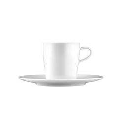 AURÉOLE Coffee cup, saucer | Dinnerware | FÜRSTENBERG