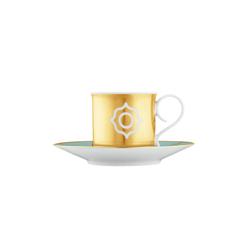 CARLO ESTE Espresso cup, Saucer | Dinnerware | FÜRSTENBERG