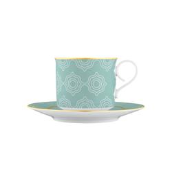 CARLO ESTE Cappuccino cup, Saucer | Dinnerware | FÜRSTENBERG
