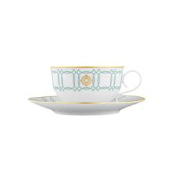 CARLO ESTE Tea cup, Saucer | Dinnerware | FÜRSTENBERG