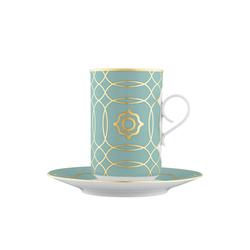 CARLO ESTE Hot chocolate cup, Saucer | Dinnerware | FÜRSTENBERG