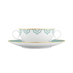 CARLO ESTE Soup cup, Saucer | Dinnerware | FÜRSTENBERG