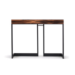 wishbone 2-drawer high table | Tables consoles | Skram